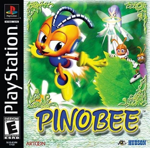 Pinobee [U] [SLUS-01494] front cover