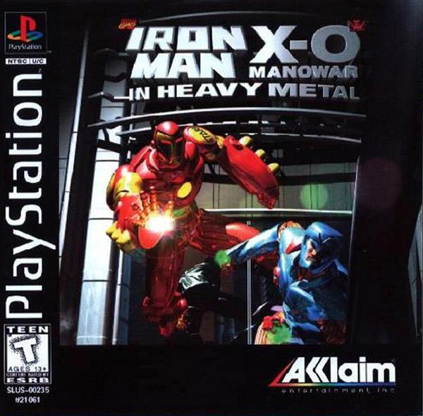 Ironman & X-O Manowar in Heavy Metal [U] [SLUS-00235] front cover