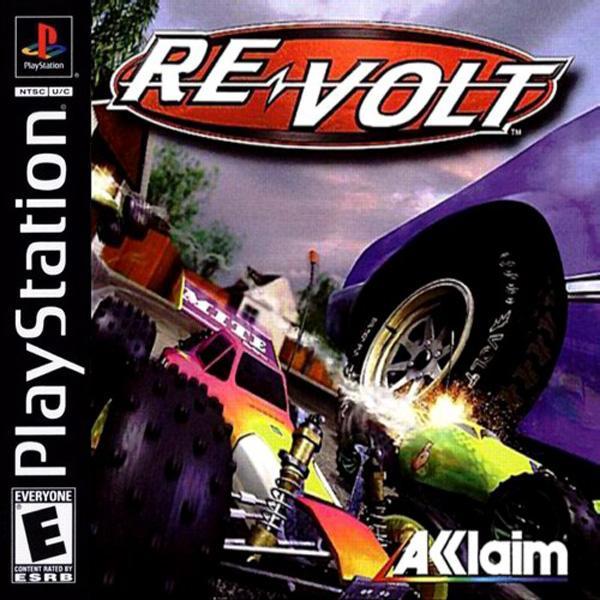 Re-Volt - Racing out of Control [U] [SLUS-00851] front cover