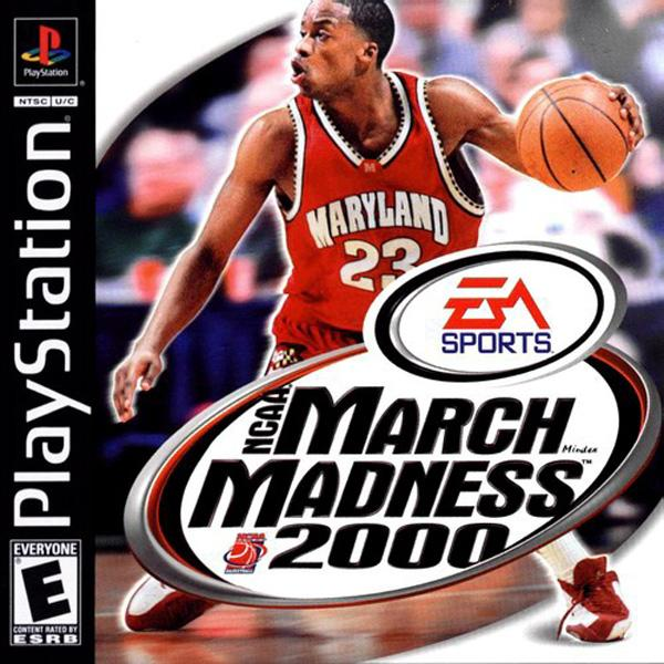 NCAA March Madness 2000 [U] [SLUS-01023] front cover