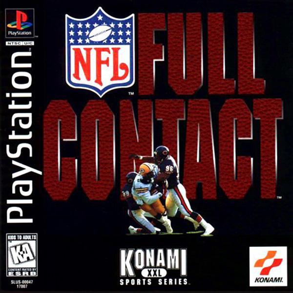 NFL Full Contact [U] [SLUS-00047] front cover