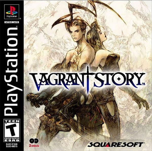 Vagrant Story [U] [SLUS-01040] front cover