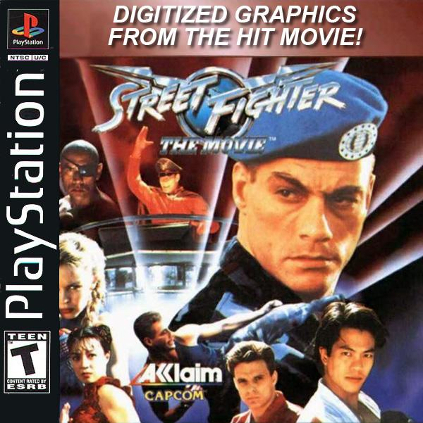 Street Fighter - The Movie [U] [SLUS-00041] front cover