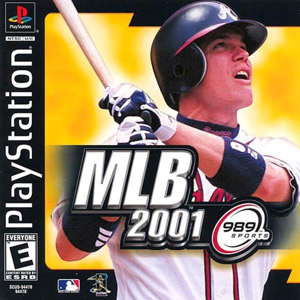 MLB 2001[U] [SCUS-94478] front cover