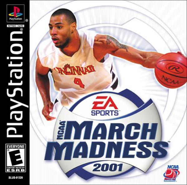 NCAA March Madness 2001 [U] [SLUS-01320] front cover