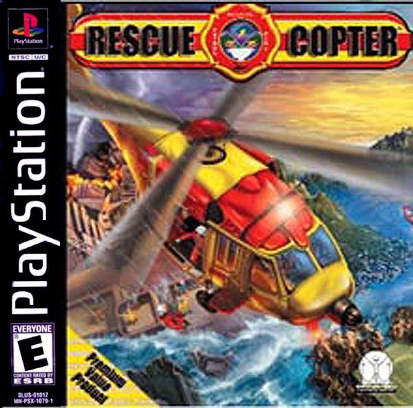 Rescue Copter [U] [SLUS-01507] front cover