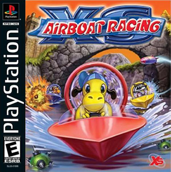 XS Airboat Racing [U] [SLUS-01566] front cover