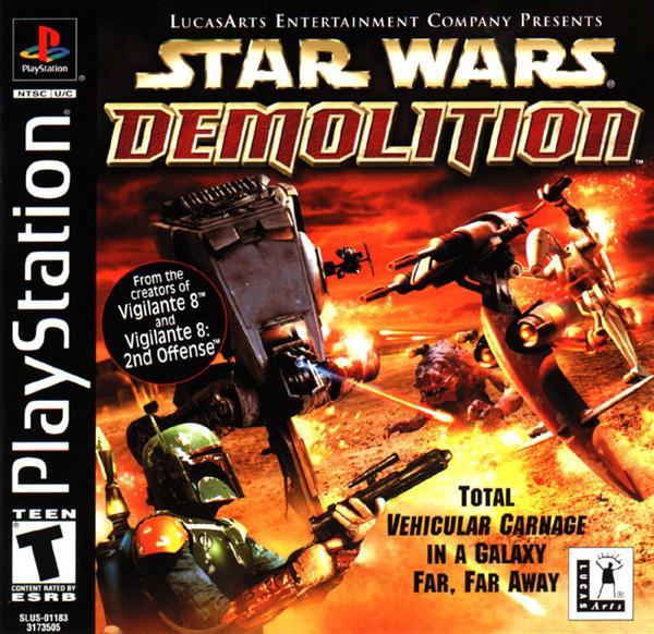 Star Wars - Demolition [U] [SLUS-01183] front cover