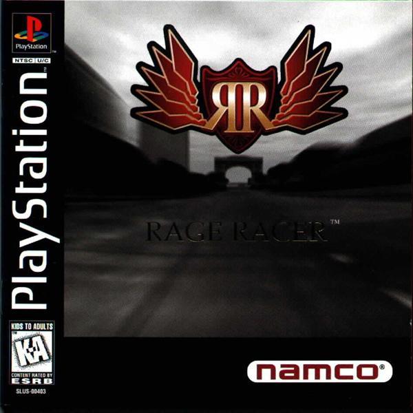 Rage Racer [U] [SLUS-00403] front cover