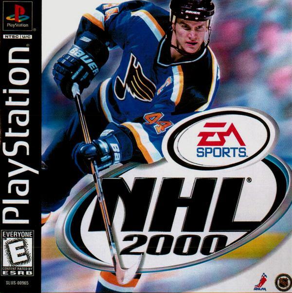NHL 2000 [U] [SLUS-00965] front cover