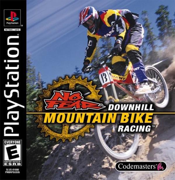 NoFear Downhill Mountain Bike Racing [U] [SLUS-01000] front cover