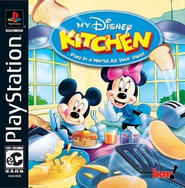 My Disney Kitchen [U] [SLUS-01512] front cover