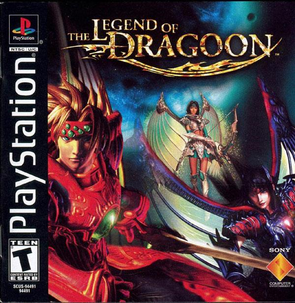 Legend of Dragoon_ The [Disc1of4] [U] [SCUS-94491] front cover