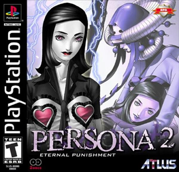 Persona 2 - Eternal Punishment [U] [SLUS-01158] front cover