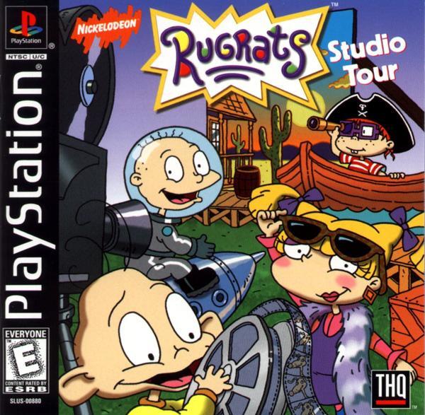 Rugrats - Studio Tour [U] [SLUS-00880] front cover