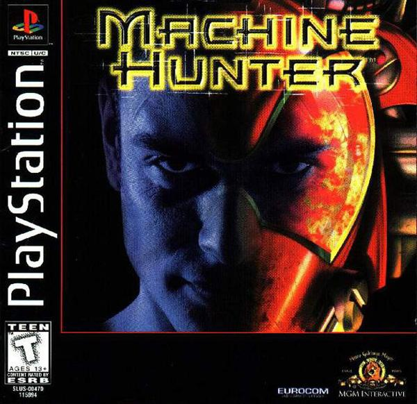 Machine Hunter [U] [SLUS-00470] front cover
