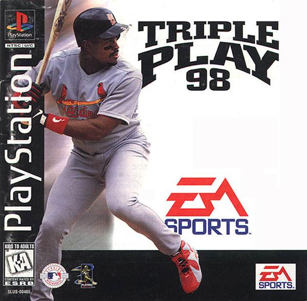 Triple Play '98 [U] [SL00465] front cover