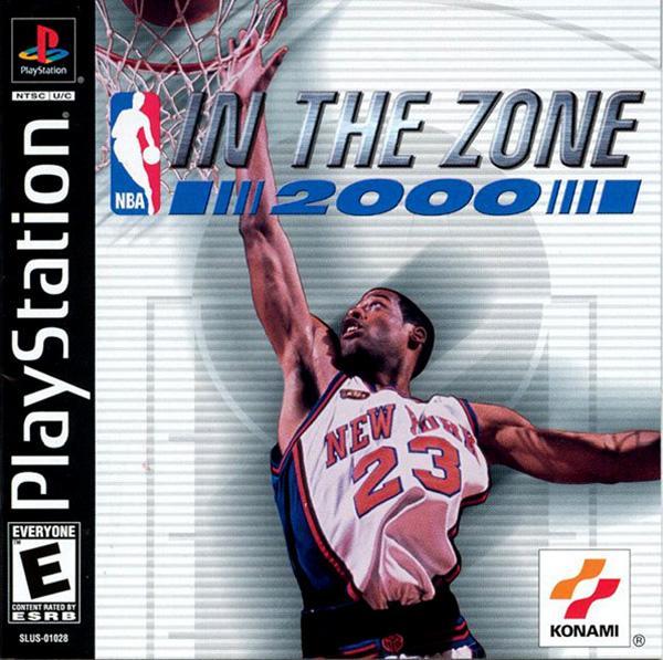 NBA In the Zone 2000 [U] [SLUS-01028] front cover