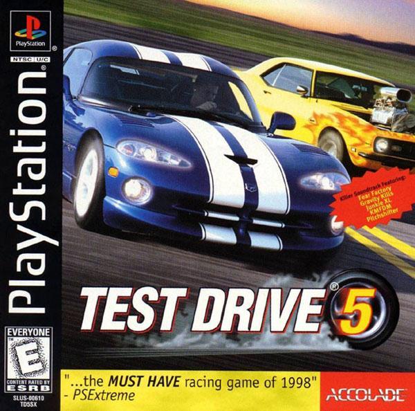 Test Drive 5 [U] [SLUS-00610] front cover