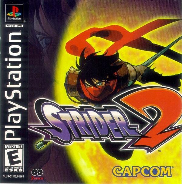 Strider [U] [SLUS-01142] front cover