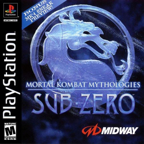 Mortal Kombat Mythologies - Sub-Zero [U] [SLUS-00476] front cover