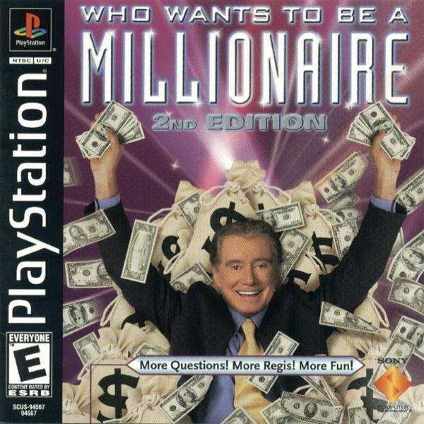 Who Wants To Be a Millionaire - 2nd Edition [U] [SCUS-94567] front cover