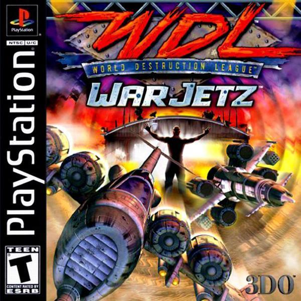 World Destruction League - War Jetz [U] [SLUS-01247] front cover
