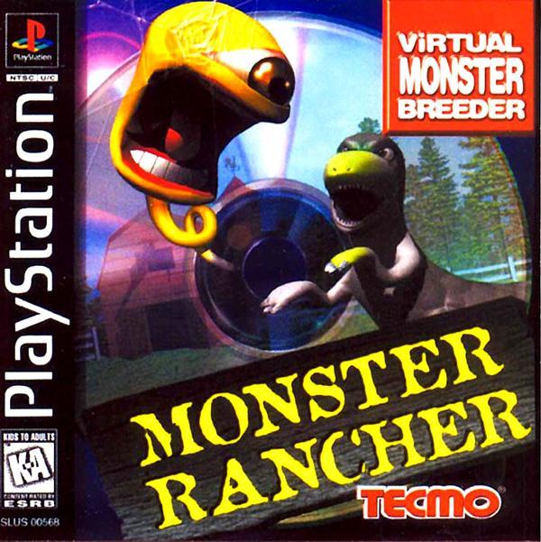Monster Rancher [U] [SLUS-00568] front cover