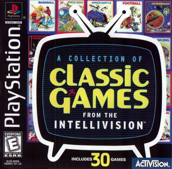 Intellivision Classics [U] [SLUS-00906] front cover
