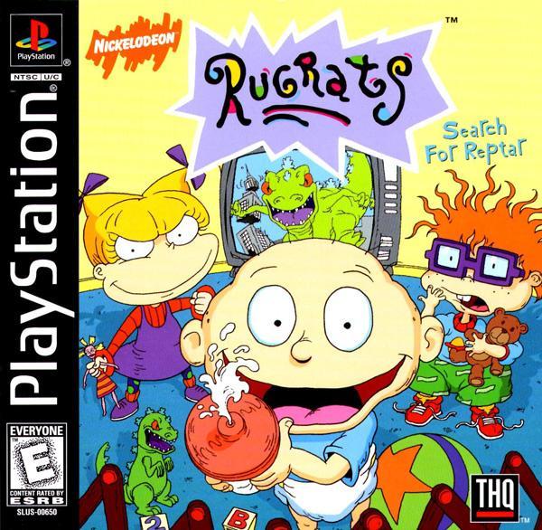 Rugrats - Search for Reptar [U] [SLUS-00650] front cover