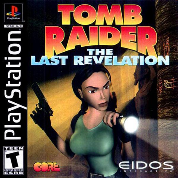 Tomb Raider 4 - The Last Revelation [U] [SLUS-00885] front cover