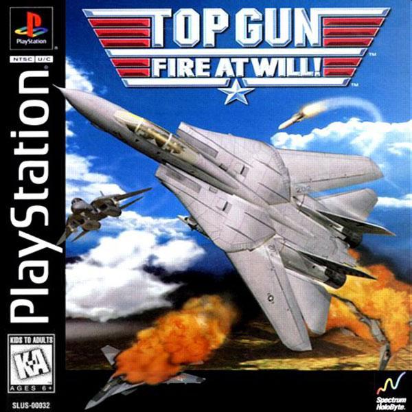 Top Gun - Fire at Will [U] [SLUS-00032] front cover