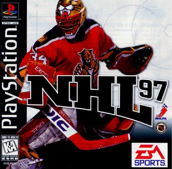 NHL '97 [U] [SLUS-00030] front cover