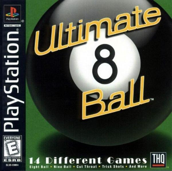 Ultimate 8 Ball [U] [SLUS-00864] front cover
