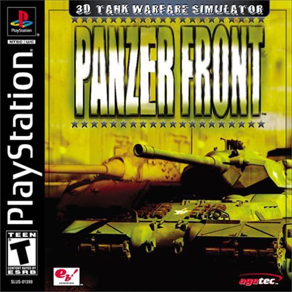 Panzer Front [U] [SLUS-01399] front cover