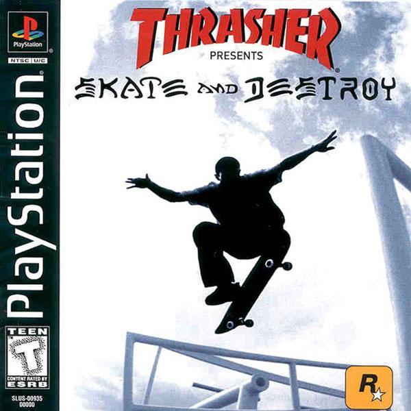 Thrasher - Skate and Destroy [U] [SLUS-00935] front cover