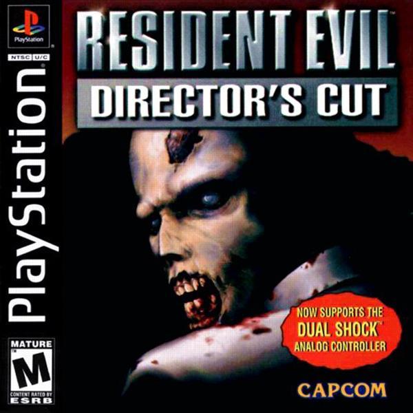 Resident Evil - Director's Cut - Dual Shock [U] [SLUS-00747] front cover