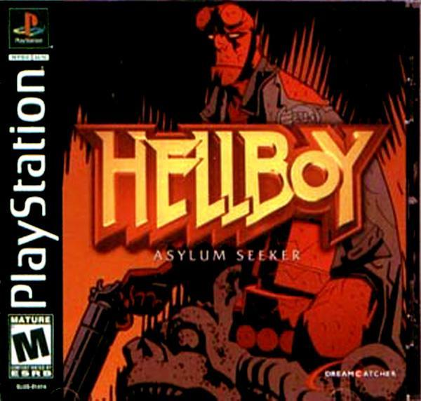 Hellboy - Asylum Seeker [U] [SLUS-01414] front cover