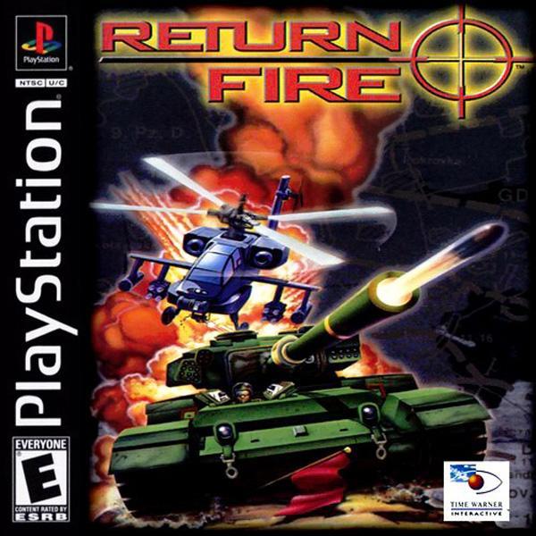 Return Fire [U] [SLUS-00184] front cover