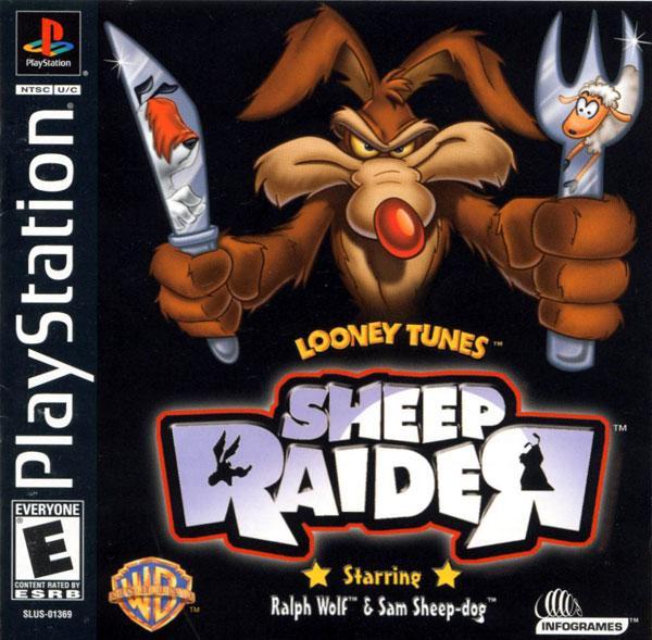Looney Toons Sheep Raider [U] [SLUS-01369] front cover