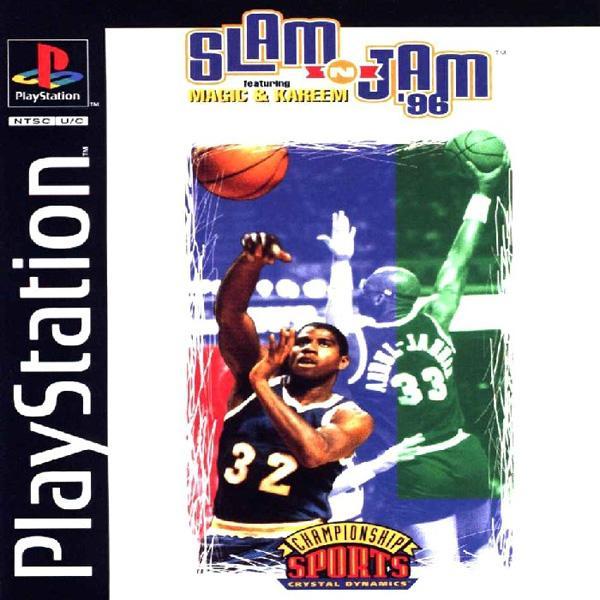 Slam 'n Jam '96 [U] [SLUS-00022] front cover