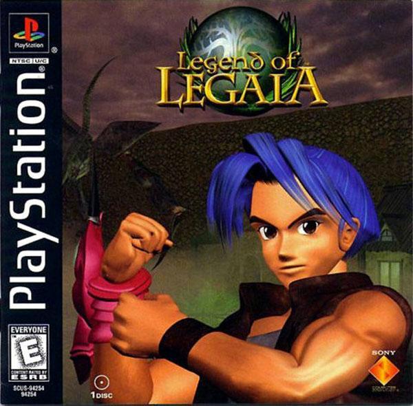 Legend of Legaia [U] [SCUS-94254] front cover