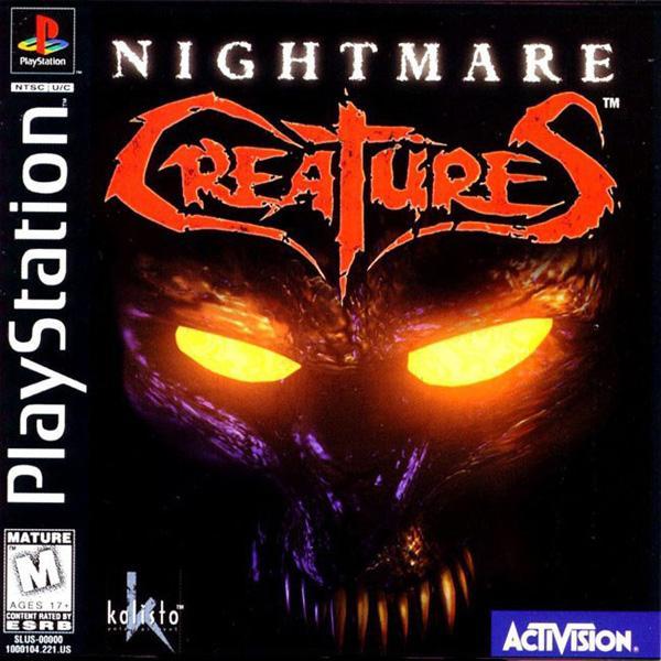 Nightmare Creatures [U] [SLUS-00582] front cover