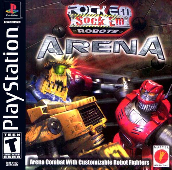 Rock'em Sock'em Robots Arena [U] [SLUS-01124] front cover