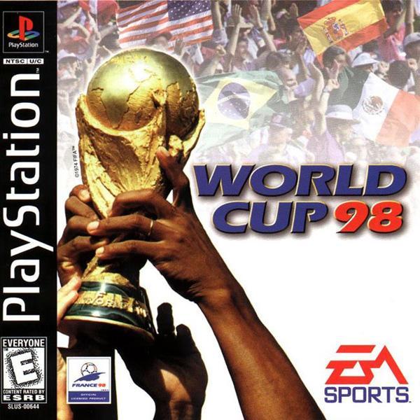 World Cup '98 [U] [SLUS-00644] front cover