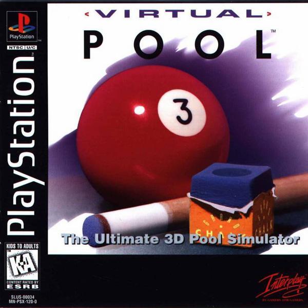 Virtual Pool [U] [SLUS-00034] front cover