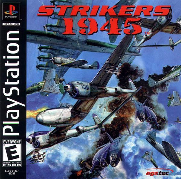 Strikers 1945 [U] [SLUS-01337] front cover