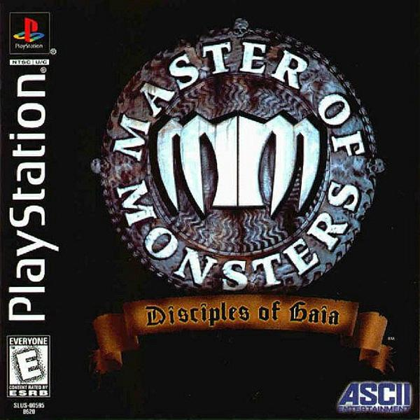 Master of Monsters - Disciples of Gaia [U] [SLUS-00595] front cover