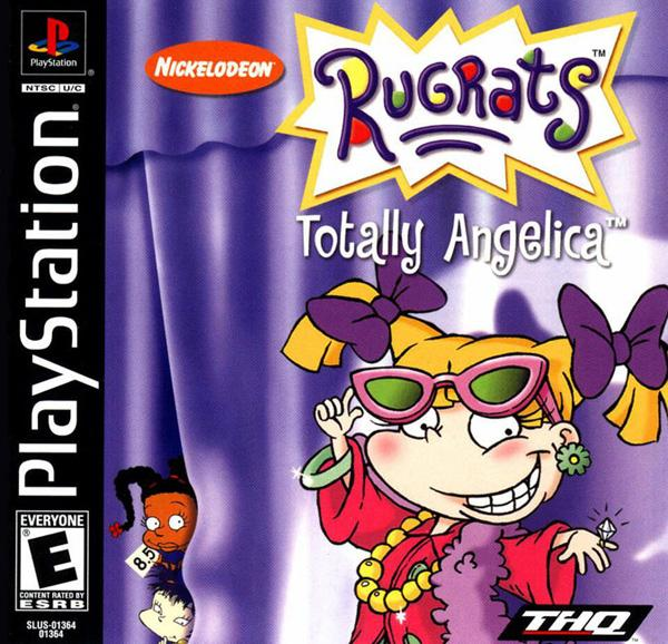 Rugrats - Totally Angelica [U] [SLUS-01364] front cover