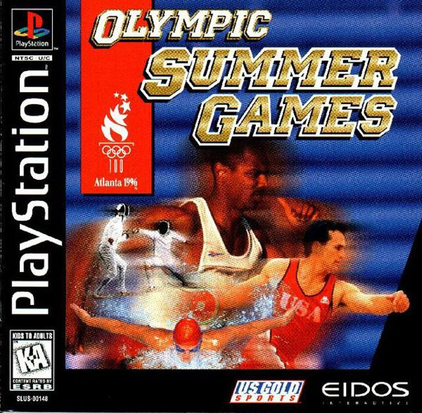 Olympic Summer Games [U] [SLUS-00148] front cover